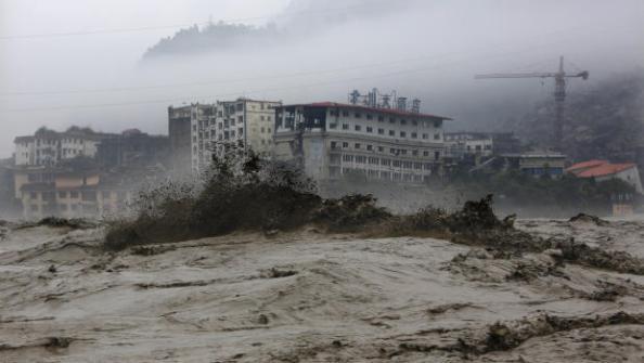 Beichuan Flooding 2013